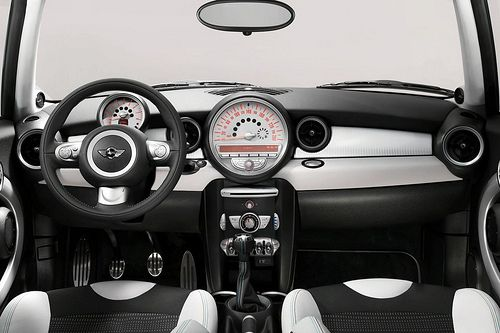 Mini Cooper S 50 Camden Interior
