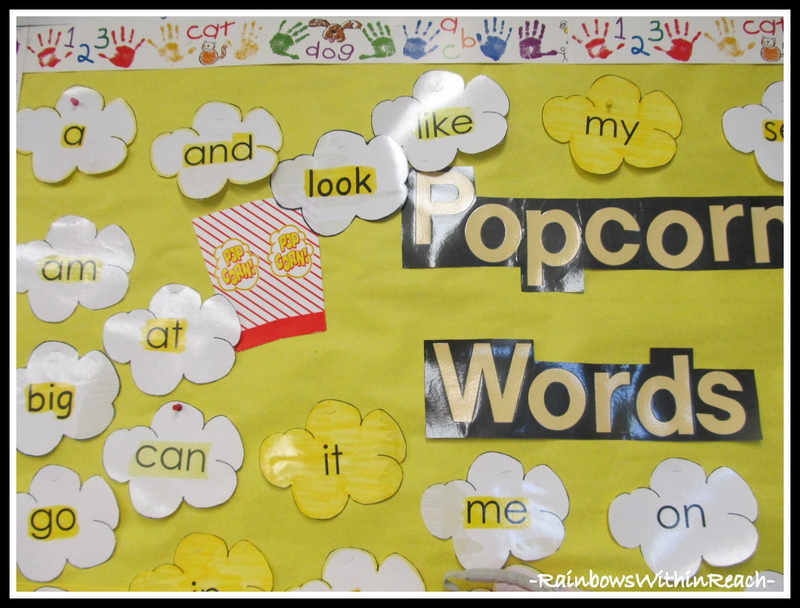 Classroom Crashing: Word Walls | Popcorn theme, Popcorn words and ...