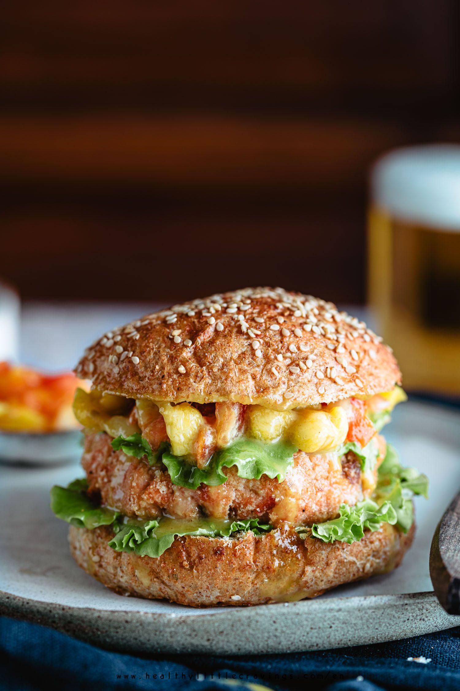 Grilled Salmon Burgers With Mango Tomato Healthy Recipe Salmon Burgers Grilled Salmon Burgers Grilled Salmon
