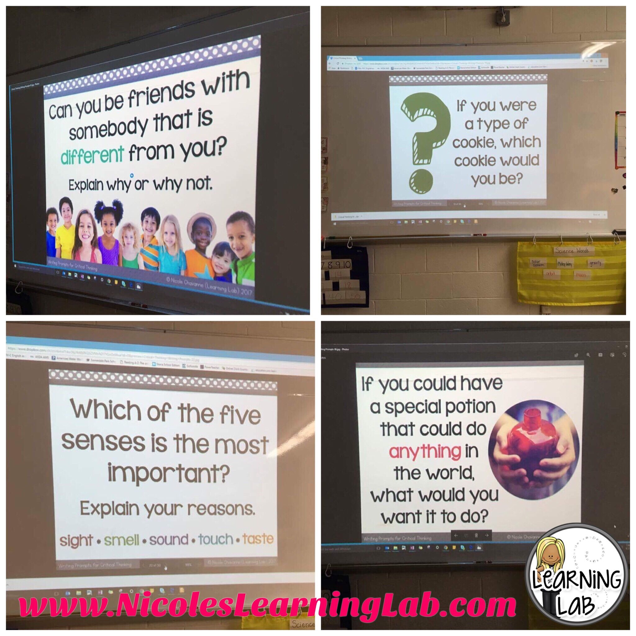 Critical Thinking Writing Prompts