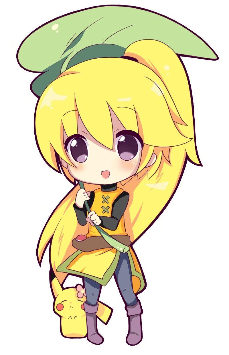 Anime Characters As Pokemon : Yellow chibi and chuchu pokèmon digimon pinterest