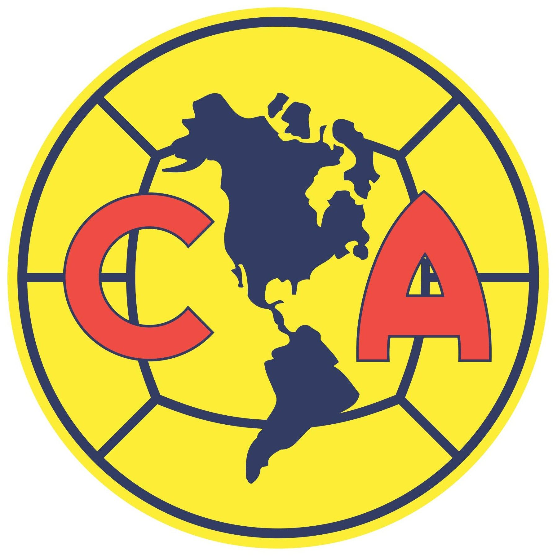america logo club am rica football soccer logos pinterest rh pinterest com club america logo svg club america logo svg