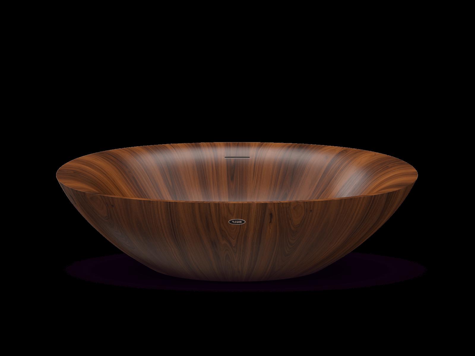 wooden bathtub PEARL: striking, unique, weightless – Alegna ...