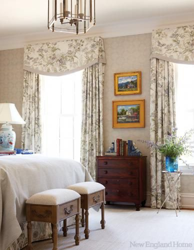 Traditional Window Treatments New England Home Magazine