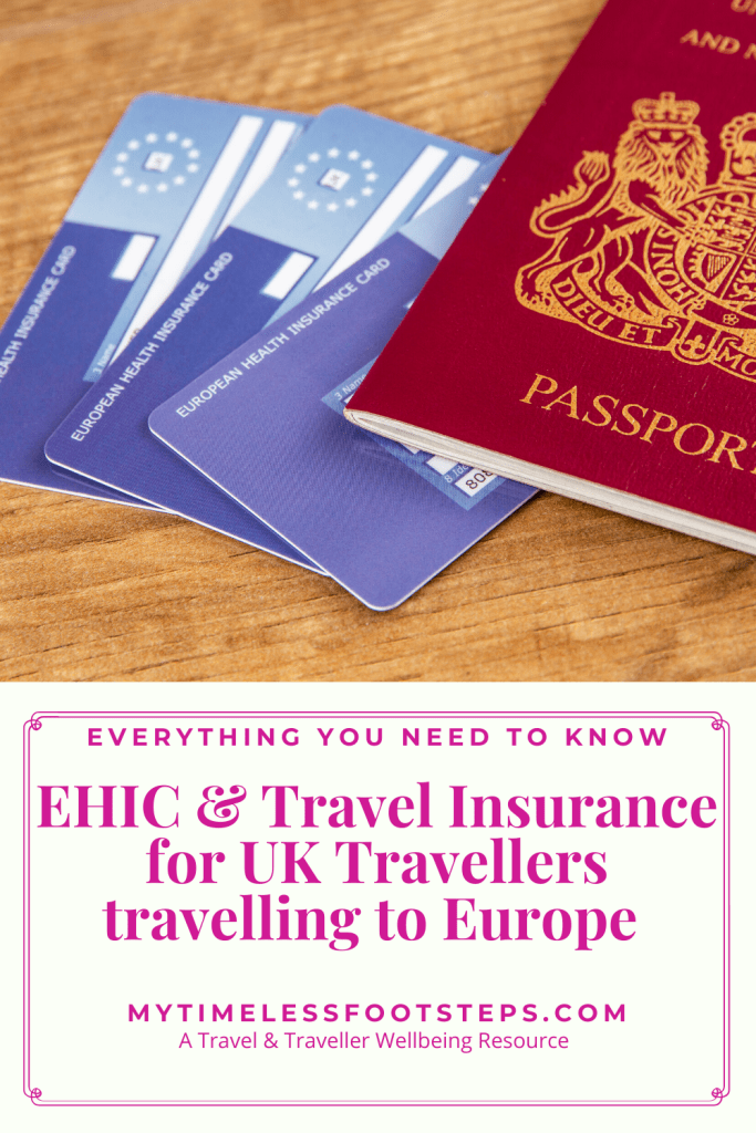 Ehic And Travel Insurance For Uk Travellers Travelling To Europe