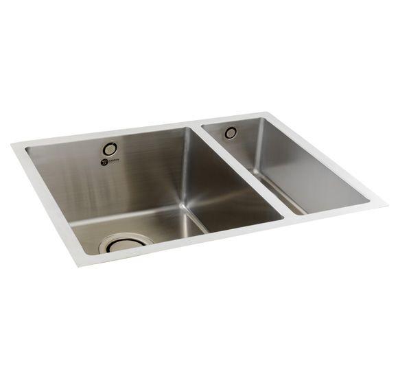 Elegant Carron Phoenix, DECA 150, Stainless Steel Sink | Appliance House