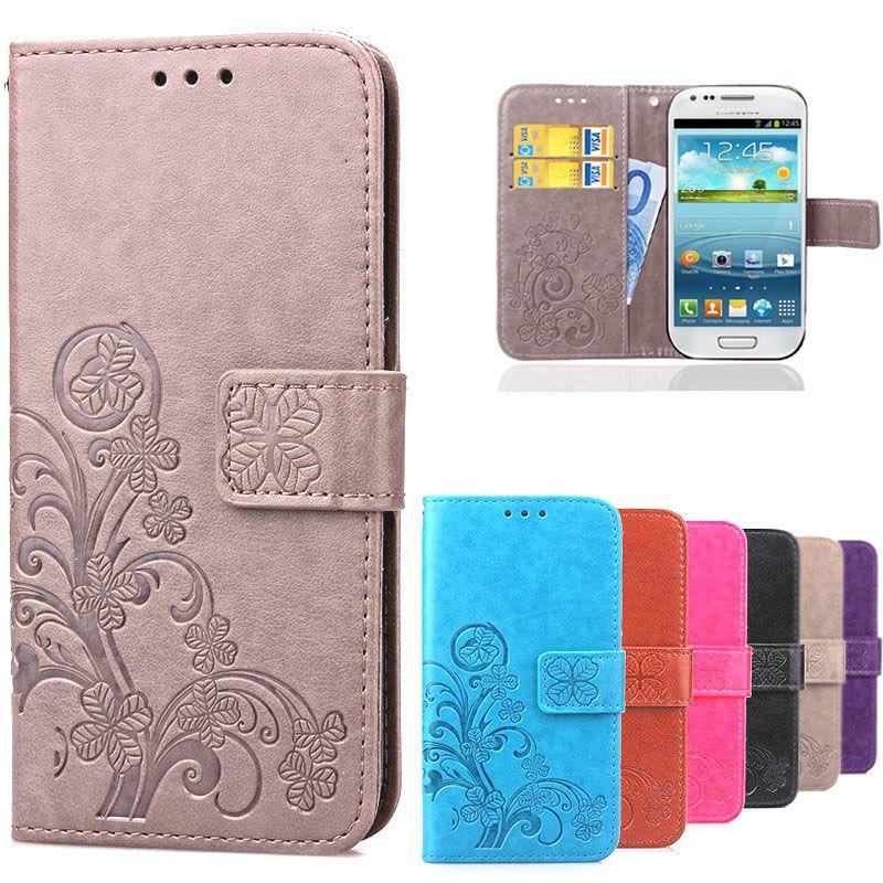 S3 mini i8190 flip case s3 i9300 portfel skóra pokrywa dla coque ...