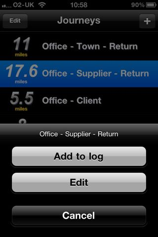 iOS, £069 The Seriously Simple Mileage Tracker (SSMT) simply - mileage tracker