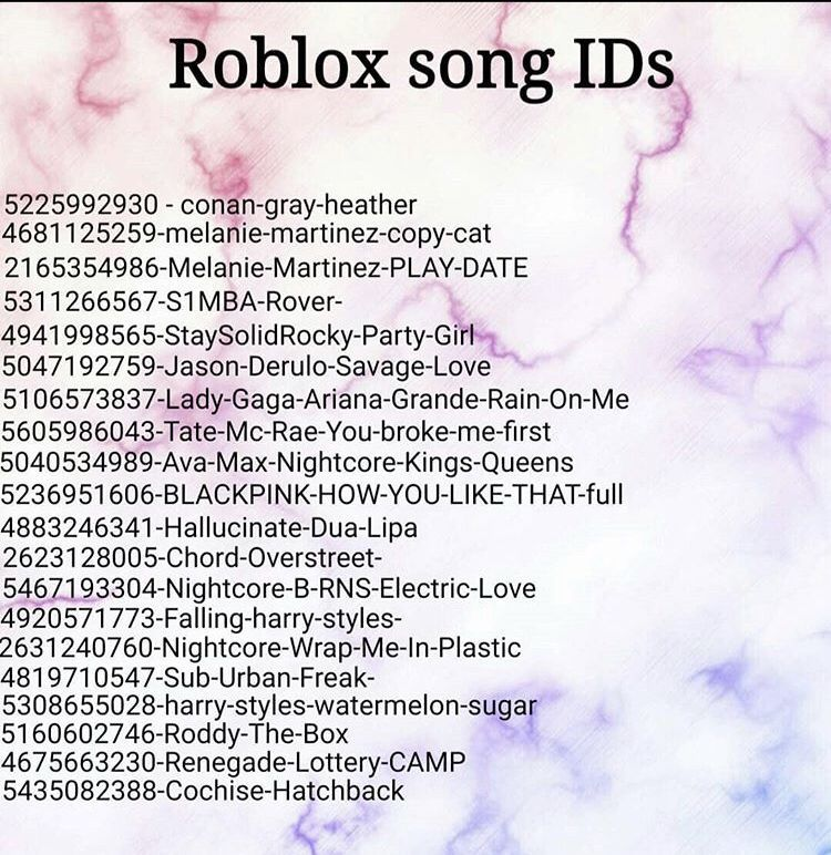 Roblox Song Ids In 2021 Roblox Codes Bloxburg Decal Codes Roblox Cool background music roblox id