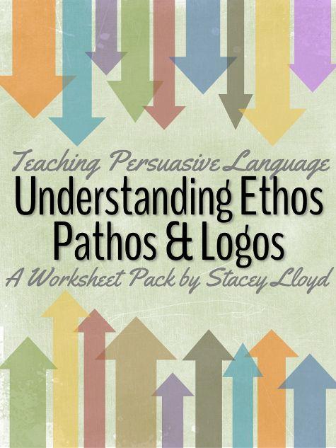 Ethos pathos logos worksheet middle school