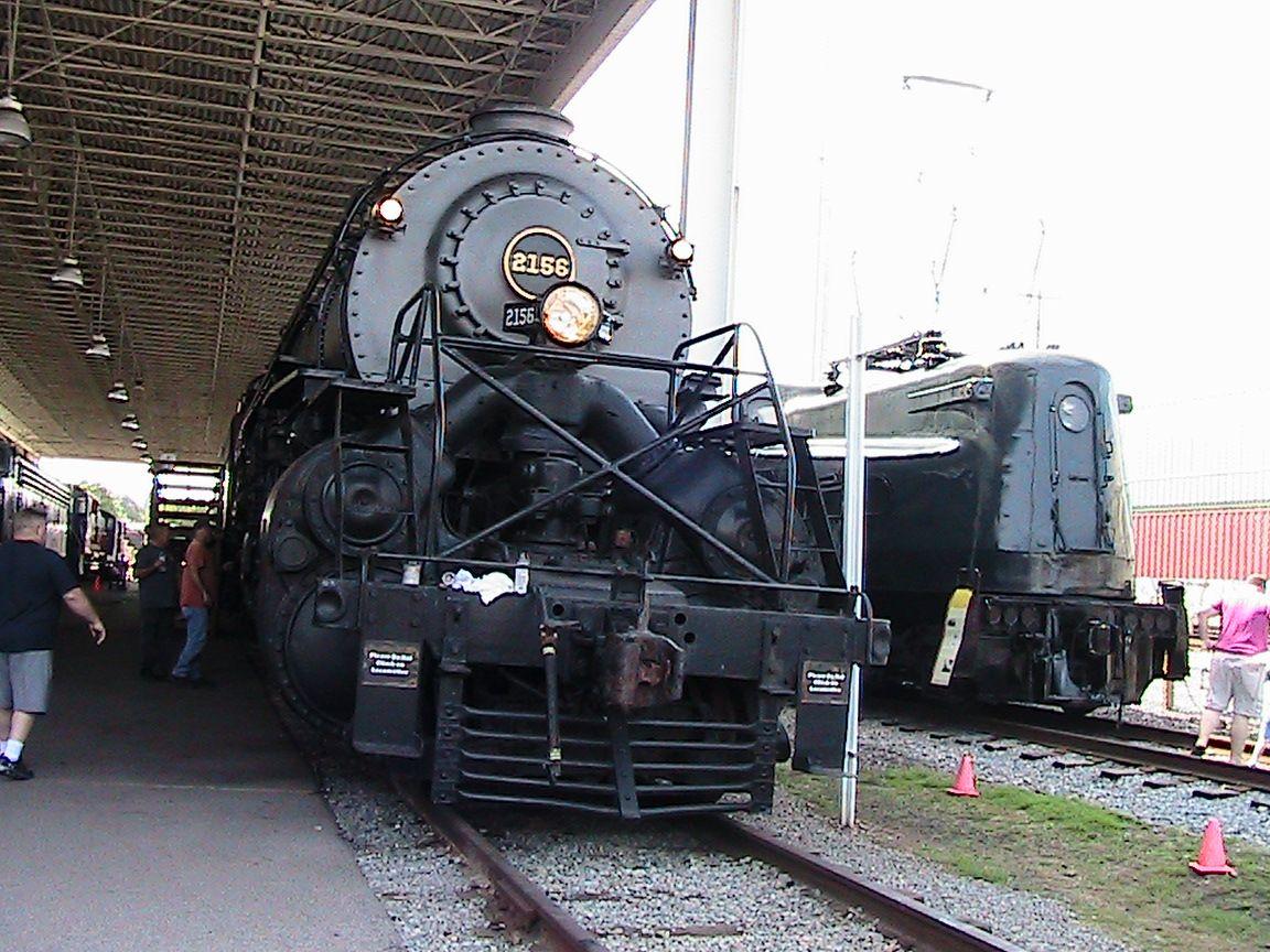 Norfolk & Western Class Y6A #2156. Virginia Museum Of Transportation.  Roanoke, Virginia.