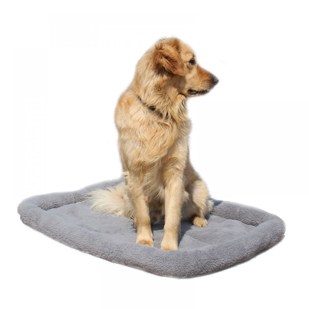 599928838c0e Large Dog Beds Gray Warm Soft Blanket For Small Medium Pet Cat Sleeping Mat  Mattress Cushion 95*68cm/80*60cm/65*45cm/55*35cm Price: 17.18 & FREE  Shipping # ...