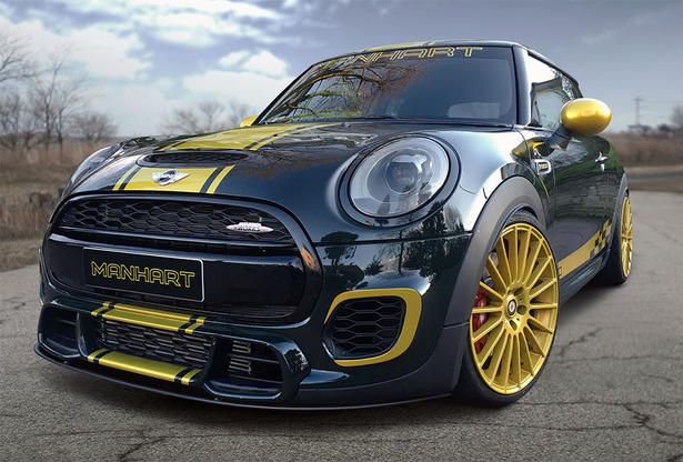 Mini Cooper Jcw Power Kit And Upgrades By Manhart Cars Trucks And