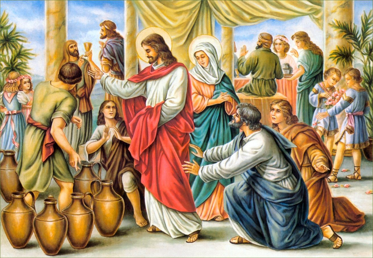 Scripture Wedding At Cana John 2 1 2 On The Third Day There Was A Wedding At Cana In Galilee And The Mother Of Jesus Wa Jesus Catholic Humor Catholic Memes