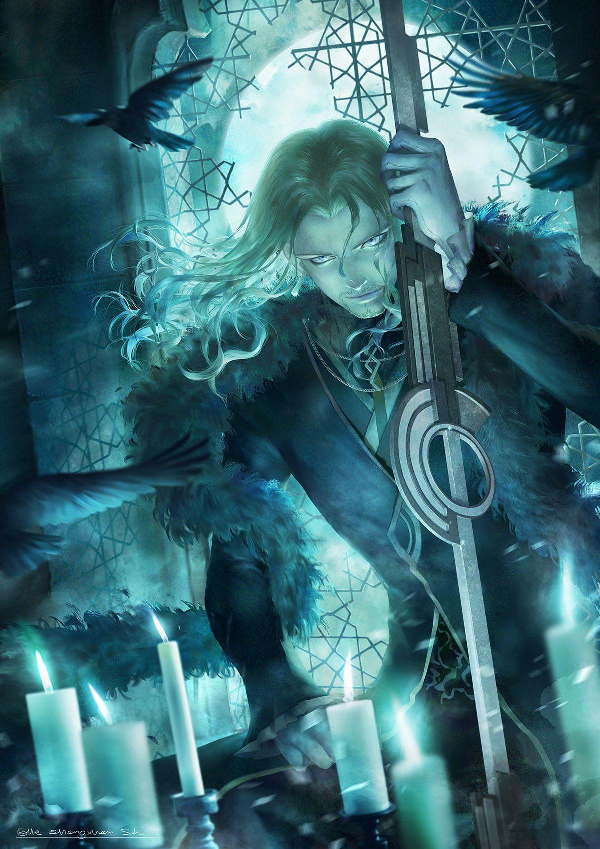 Vlad Iii Fate Apocrypha Personagens De Anime Anime Personagens