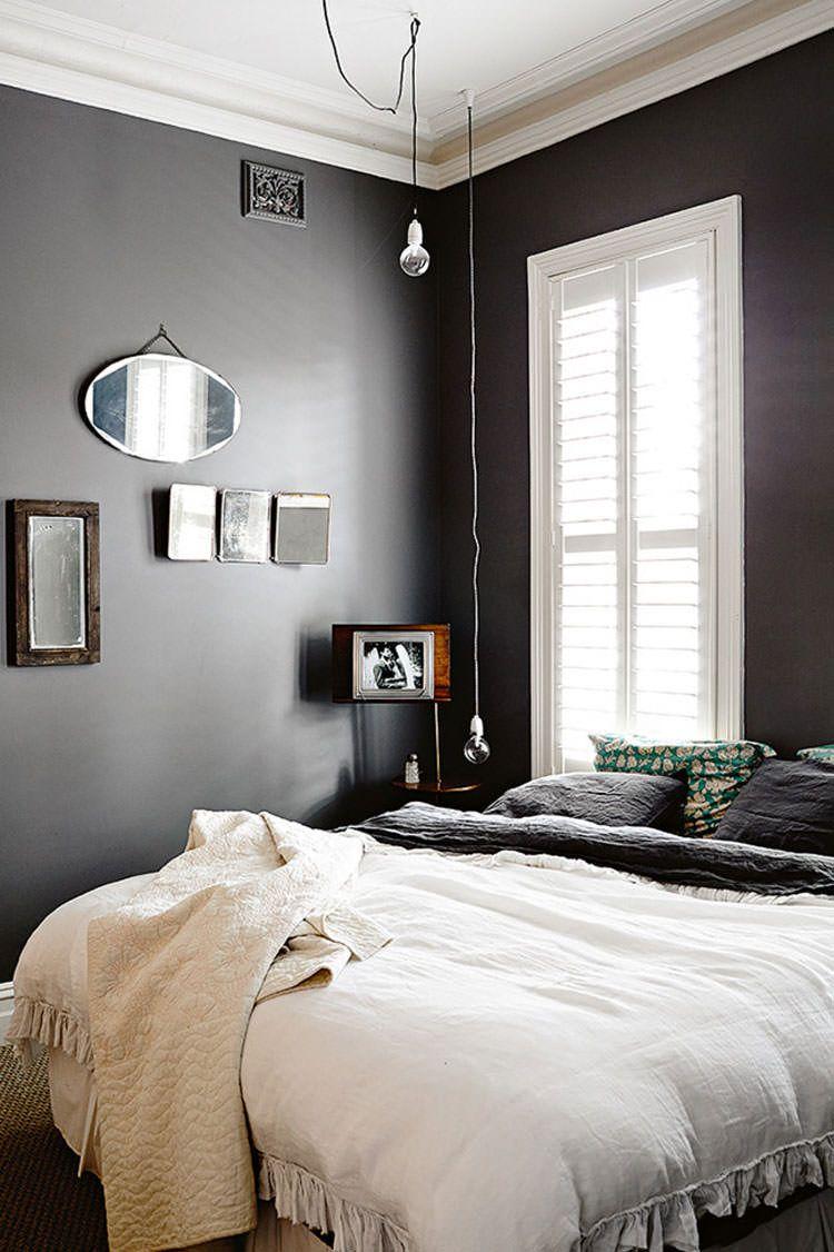 Idee per arredare la camera da letto in bianco e nero n.20 ...