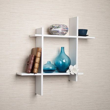 Floating Shelves Target Asymmetric Floating Wall Shelf  Target  For The Home  Pinterest