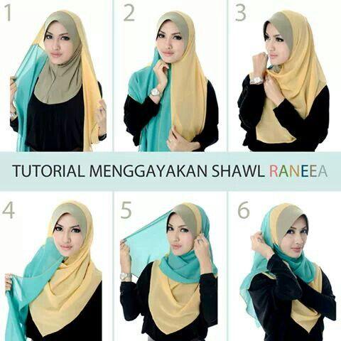 Pin Di Hanna Badwolf Su Hijab Tutorial Hijab Foulard Tutorial