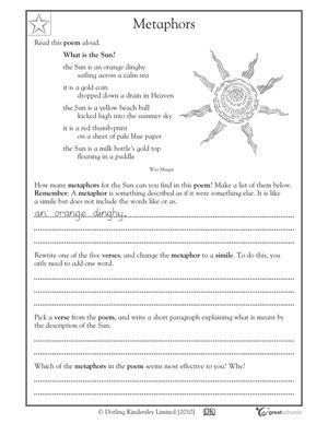 Our 5 Favorite 4th Grade Reading Worksheets With Images Reading Worksheets 4th Grade Reading Teaching Figurative Language