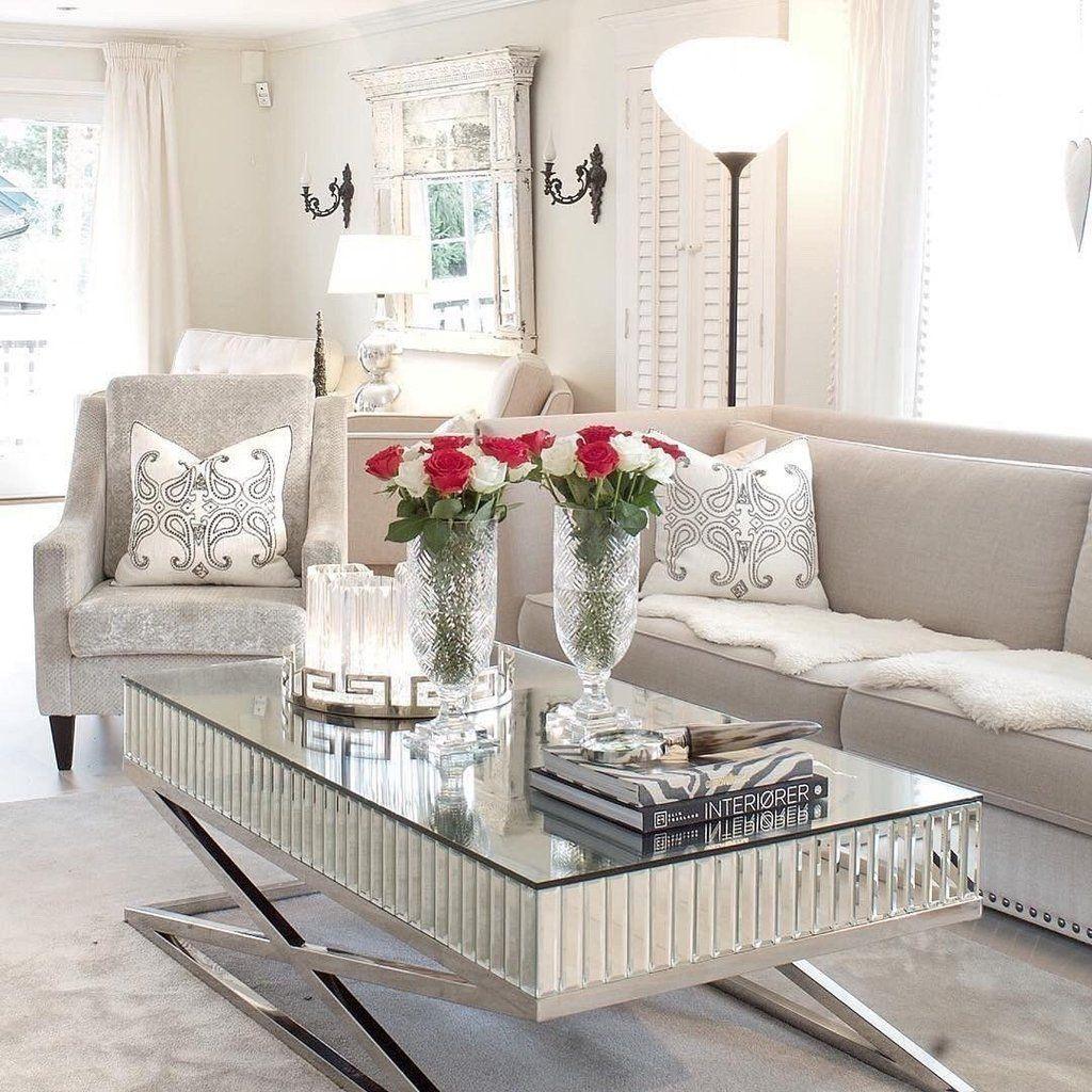 The Gatsby Classic Mirrored Rectangular Coffee Table Hos Home Coffee Table Mirrored Coffee Tables Home Coffee Tables