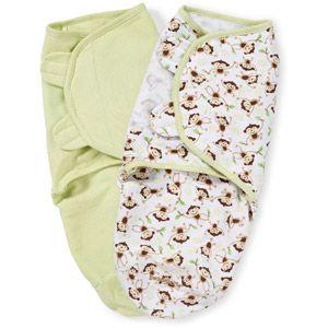 Walmart Swaddle Blankets Awesome Summer Infant Swaddleme Swaddling Blanket Monkey Toss Small 2Pk Review