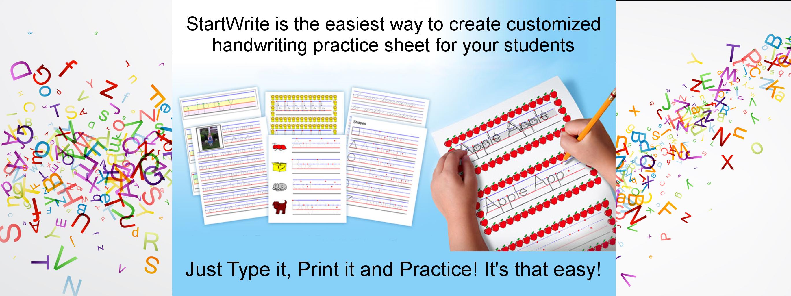 Handwriting Worksheet Maker From Www Startwrite Com Handwriting Analysis Handwriting Practice Sheets Improve Your Handwriting [ 1024 x 2737 Pixel ]