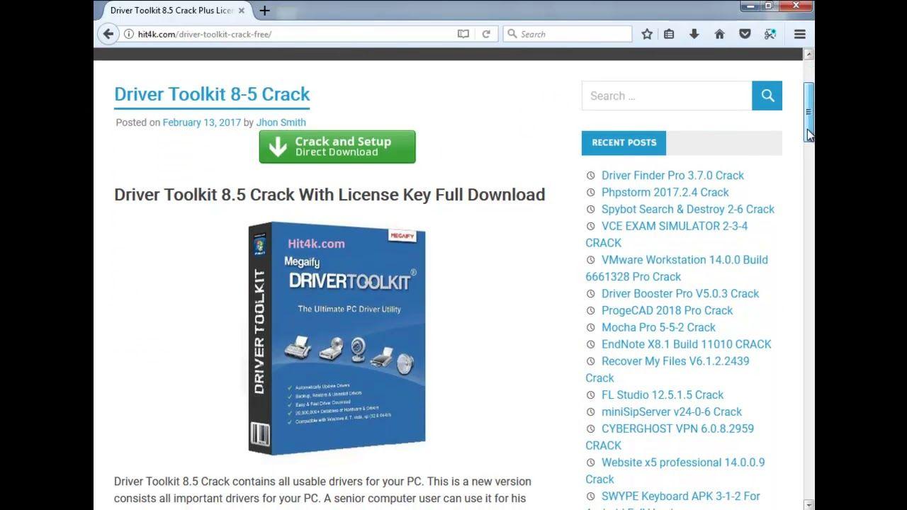 register driver toolkit 8.5 license key | Driver Toolkit | Key