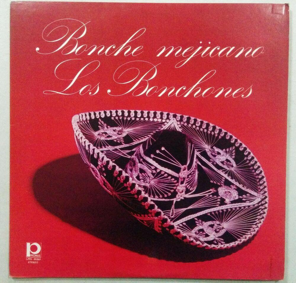 Los Bonchones Bonche Mejicano Venezuela Lp Mariachirancheras Vinyl Store Decorative Bowls Record Store