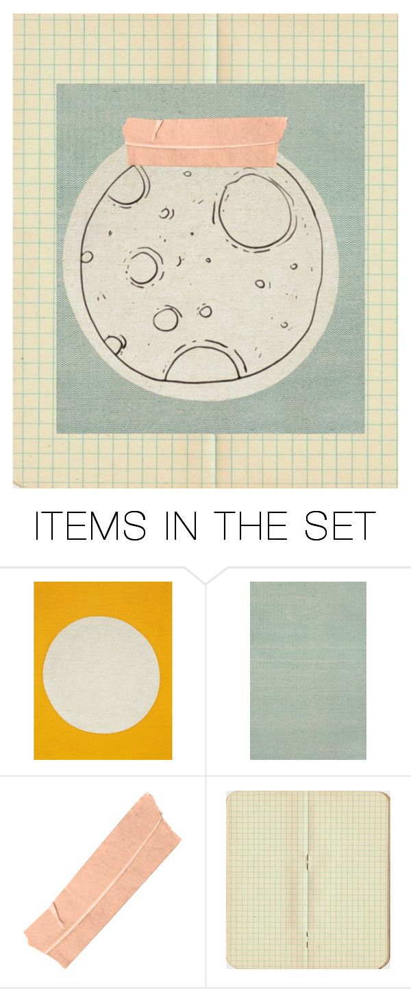"""""""My moon :- )"""" by madeliefjulia ❤ liked on Polyvore featuring art"""