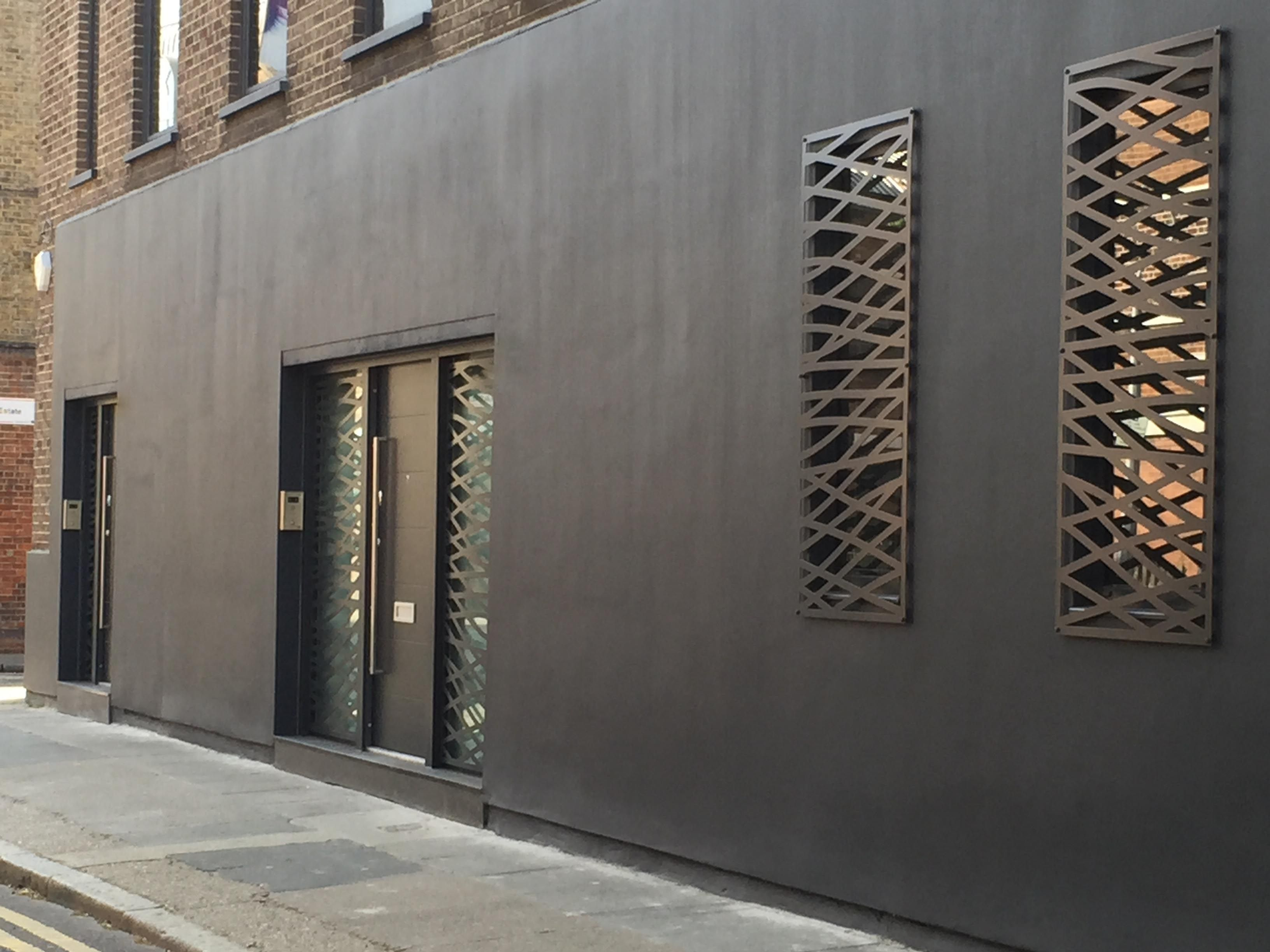 Laser Cut Screens By Miles And Lincoln London England Www  # Decoration Facade Tv Plasma