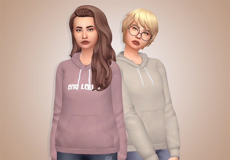 Casual MM Hoodies! Love THESE | THE SIMS 4 CC MM: CLOTHES