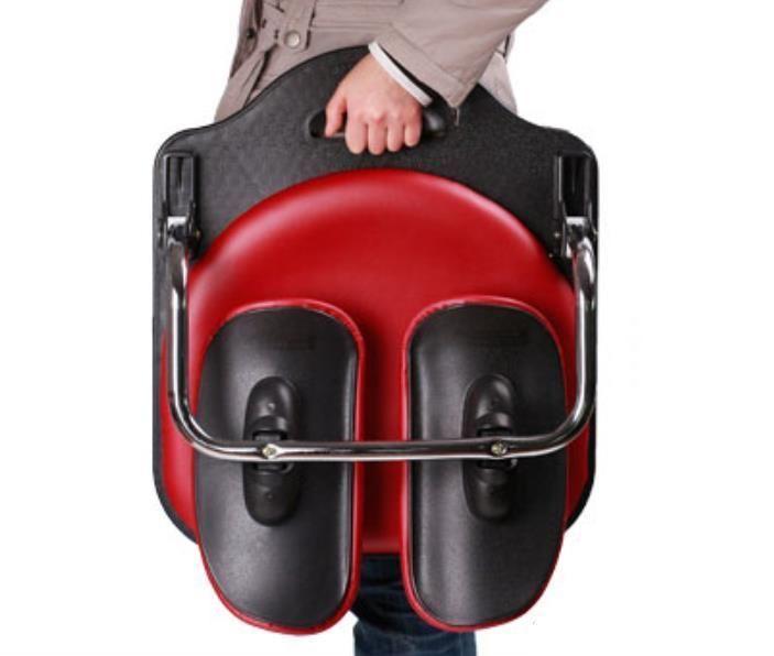 Folding Floor Chair Japanese Legless Style Red Tatami Zaisu Ergonomic Chairs