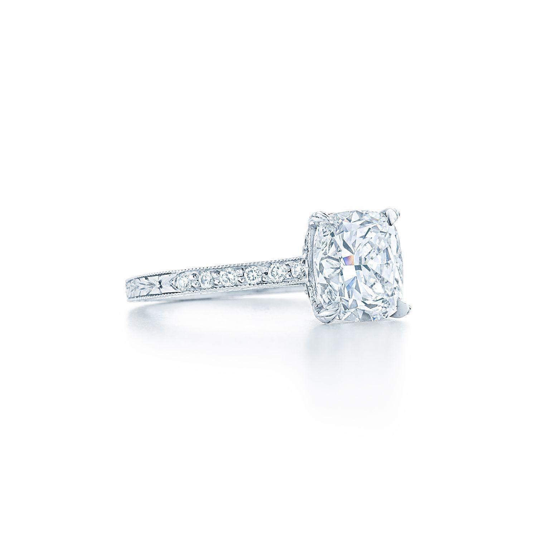 Cushion diamond engagement ring cushion diamond engagement ring in