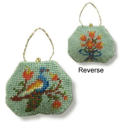 Dollhouse Needlepoint Handbag Kit Elegant Pea Kits