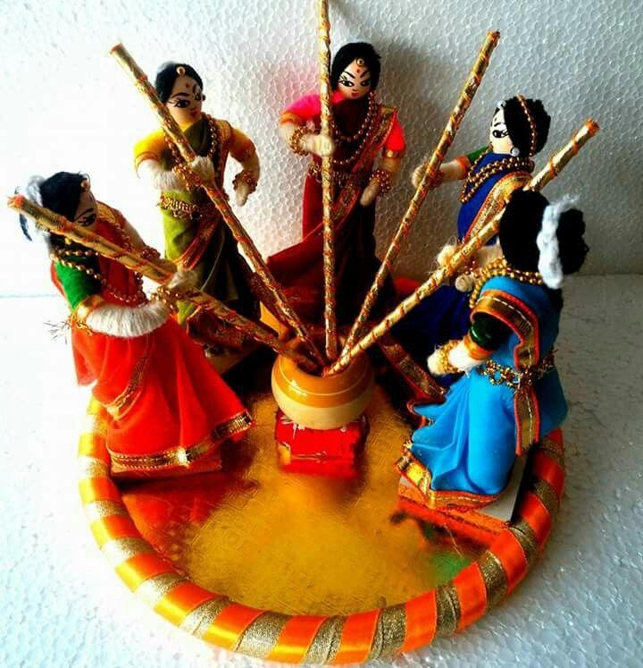 Pin De Chitra En Navrathri Dolls