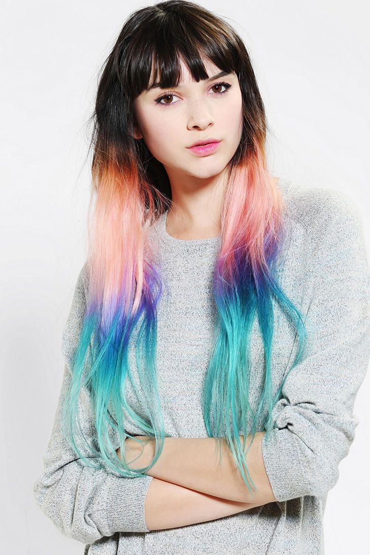 Cloud9jewels cotton candy ombre clip in hair extension rave cloud9jewels cotton candy ombre clip in hair extension pmusecretfo Images