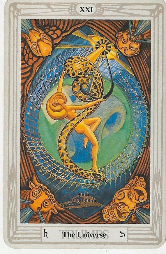 ONE AMERICAN MIND from Gayle Alstrom: The Universe Tarot Card | Tarot cards  art, Tarot decks, The world tarot