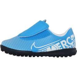 Photo of Botas de fútbol para niños Nike Jr. Mercurial Vapor 13 Club Tf, talla 27 ½ en azul Hero / white-O