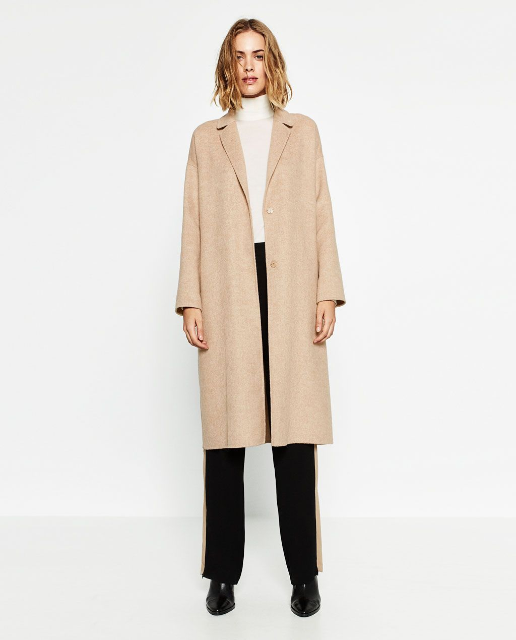 wool coat view all outerwear w zara united states wool coat view all outerwear w zara united states