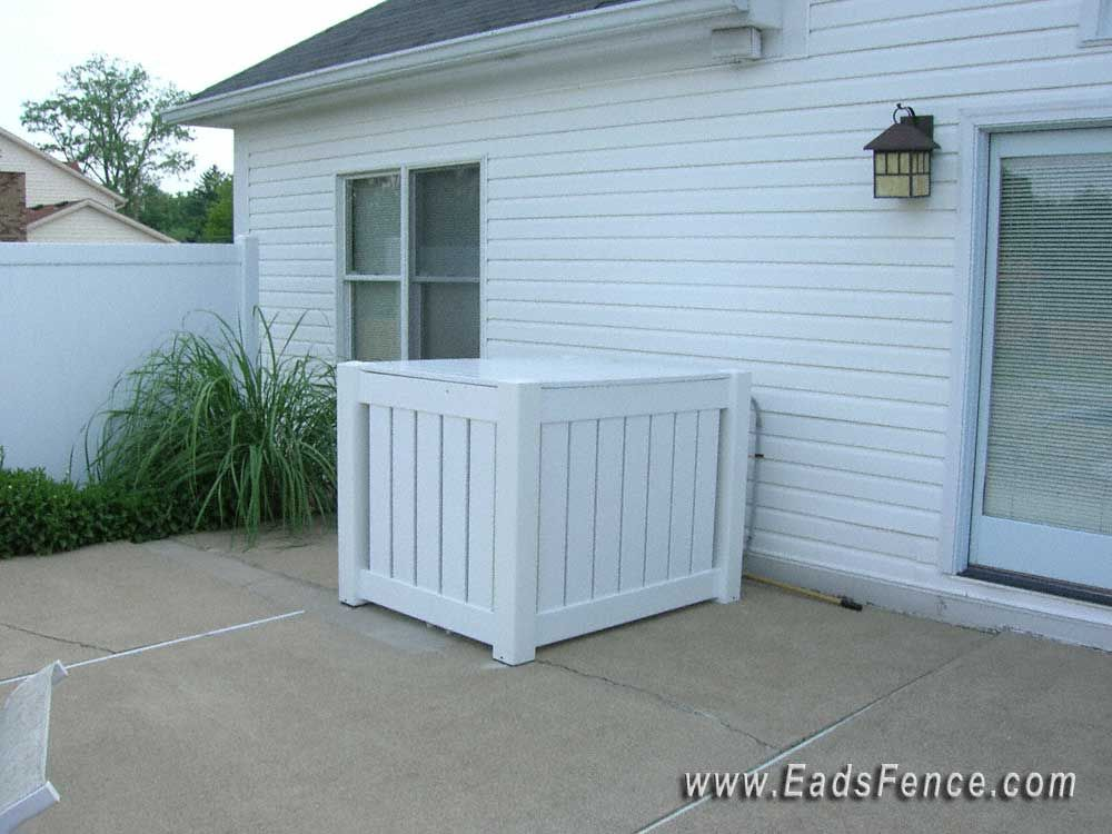 Wood Built Air Conditioner Cover Up Sanctuary Pinterest Air Conditioner Cover Woods And Yards