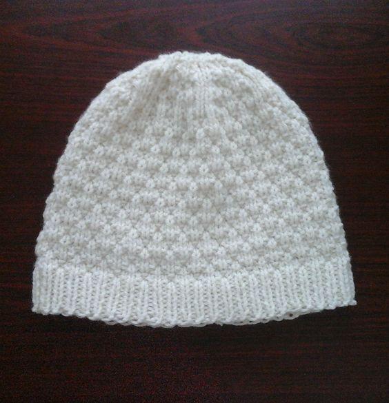 A Hat on Straight Needles: Seersucker | Seersucker, Stitch and Patterns
