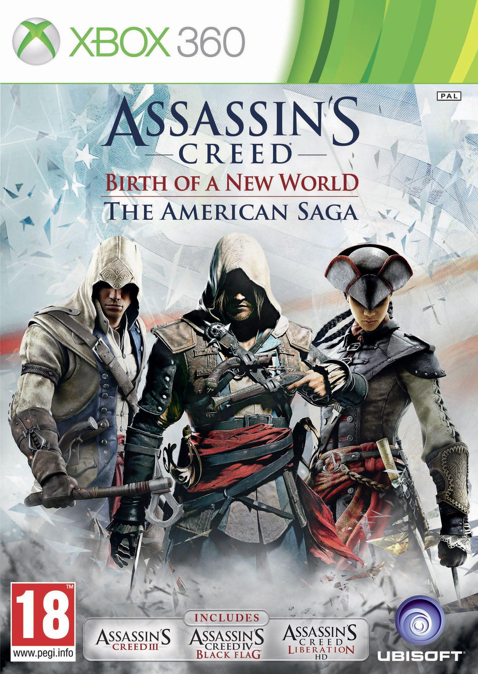Includes Assassins Creed Lll Assassins Creed Black Flag