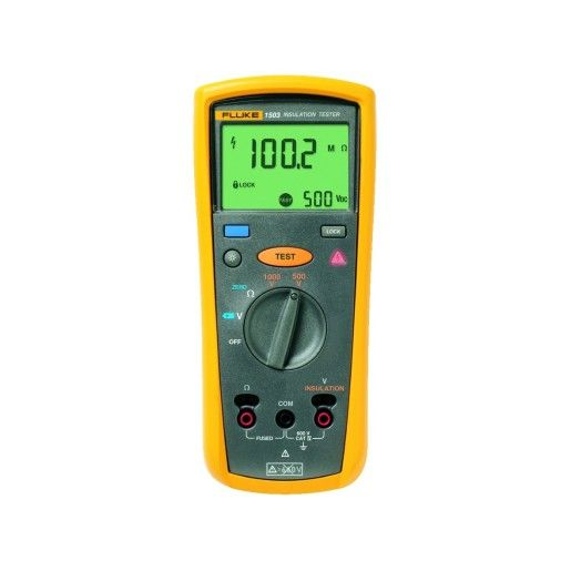 Fluke Insulation And Resistance Tester Maplin Insulation Tester Ac Dc Voltage