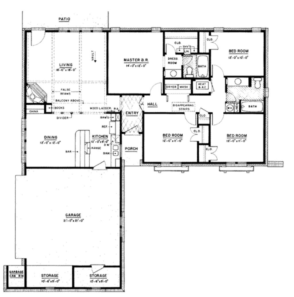 13 Unique 1500 Sq Ft Ranch House Plans Check More At Http://www Gallery