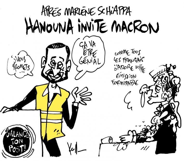 Dessin de Kroll (Bruxelles) paru dans Le Soir. | Hanouna, Cyril hanouna,  Satirique
