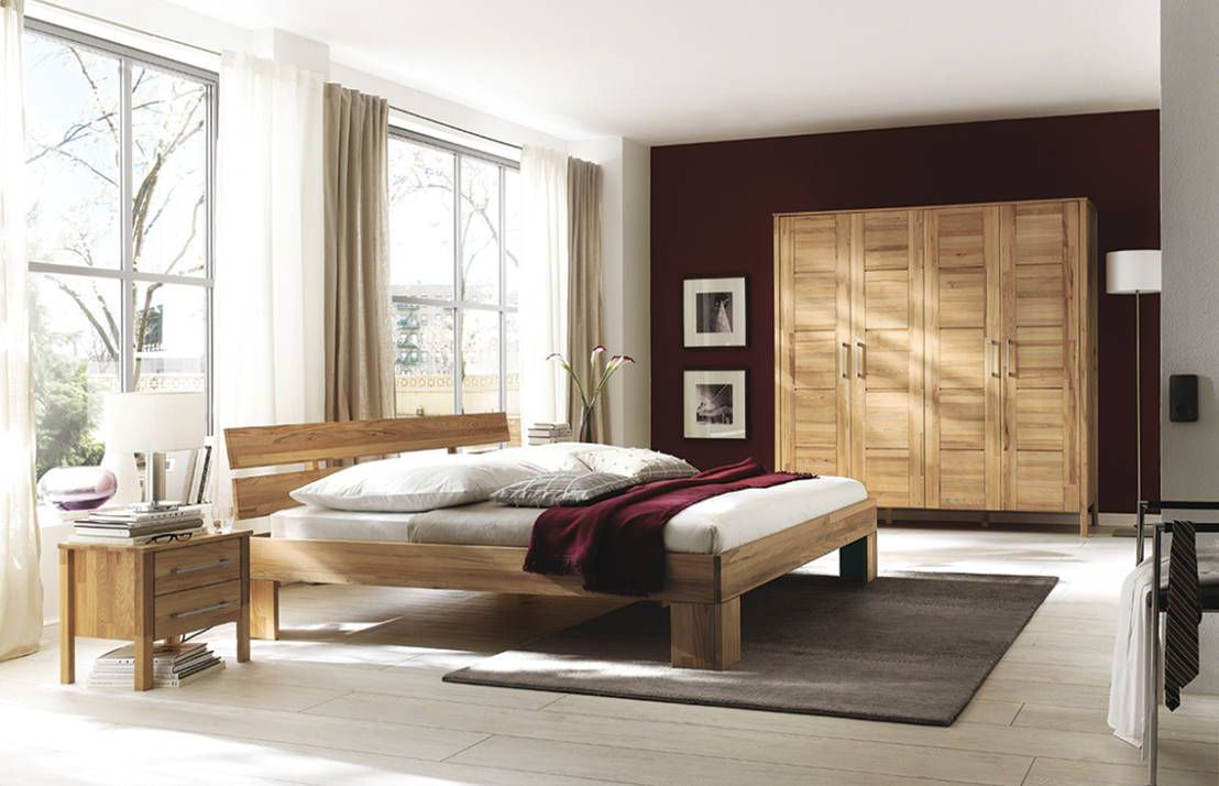 Tranquil feng shui bedroom with spacious tranquil