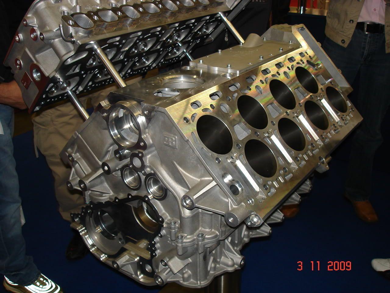 Bugatti Veyeron W16 engine block. #bugattiveyronengine