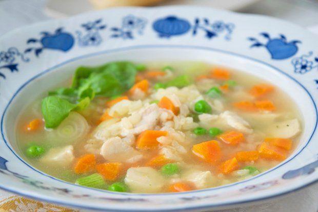 Reissuppe mit Huhn - Rezept   GuteKueche.at   Rezepte