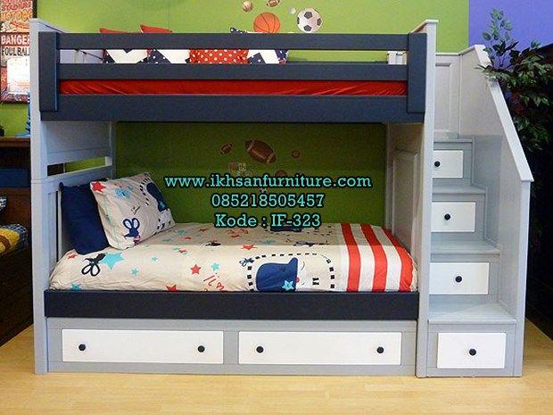 jual tempat tidur tingkat 2 murah model tempat tidur