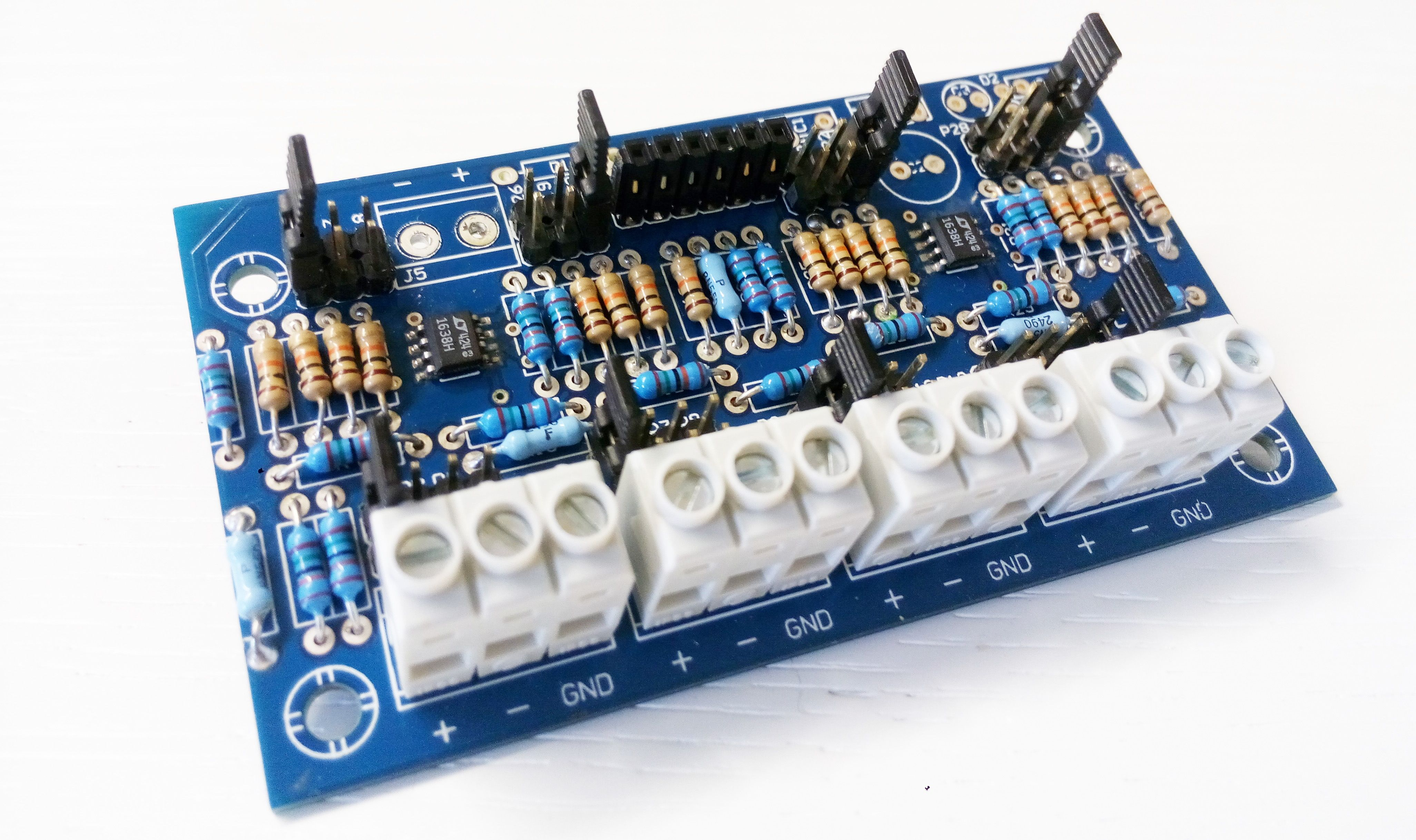 Bmana analog input converter for arduino boards but not